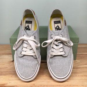 Women's Vans Sneakers, Gray, Size 8